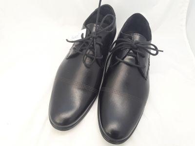 férfi bőr félcipő C-9 fekete 2
