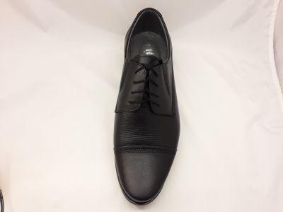 alkalmi férfi bőrcipő 075 fekete2