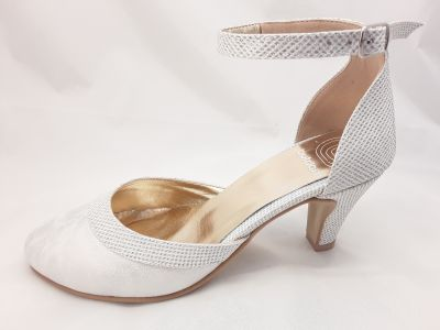 mennyasszonny cipő LENA Monaco /bialy