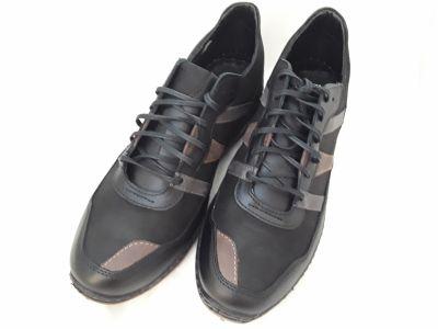 férfi bőr félcipő SAL-04 MARCO fekete2