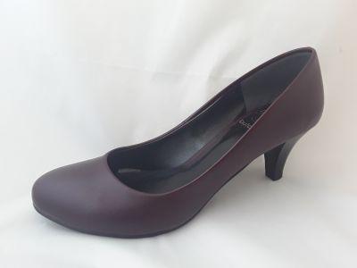 női alkalmi cipő BOZENA ECO bordó