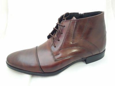 alkalmi férfi száras bőrcipő D1 braz 1120