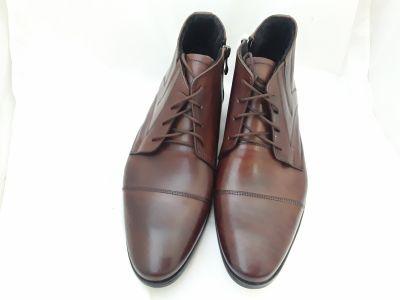 alkalmi férfi száras bőrcipő D1 braz 11202
