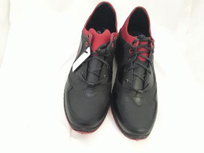 férfi bőr félcipő SAL-07 MARCO fekete/piros 2