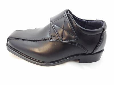Fiú alkalmi cipő  XL-4107 BLACK 22-27 méretben