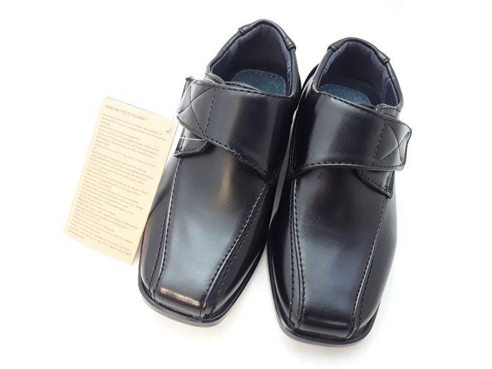 Fiú alkalmi cipő  XL-4107 BLACK 22-27 méretben large