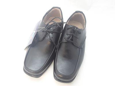 Fiú alkalmi cipő  5604 BLACK 25-30 méretben2