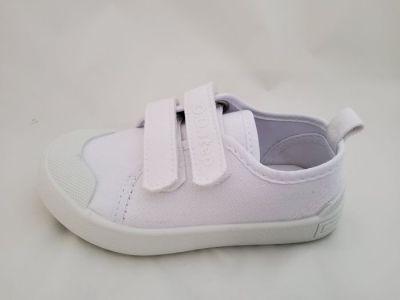 D.D.step tépőzáras vászon cipő CSG-142L WHITE 24-29  méretben