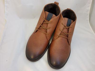 Elegáns száras cipő 121979 -01 STRETCH CAMEL/CAM NUIT / NOB OIL 2