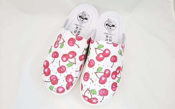 bio klumpa 530 fehér/cseresznye large