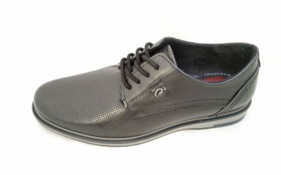 bőr férfi cipő 125103-01 ANILINA PRETO