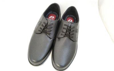 bőr férfi cipő 125103-01 ANILINA PRETO2