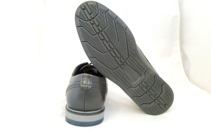 bőr férfi cipő 125103-01 ANILINA PRETO large