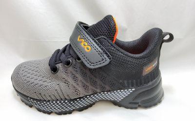 sportos utcai cipő VOP2027K-5 GREY /BLACK