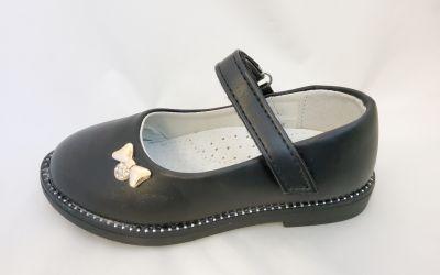 Lányka alkalmi cipő X-2857A BLACK 26-31 méretben