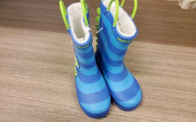 fiú esőcsizma BD12510 BLUE CROC2