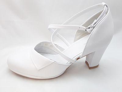 mennyasszony cipő 9533 fehér