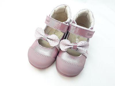 SUPINÁLT BŐR CIPŐ 3271-507491 1 tépős balerinacipő 20-24 méretben2