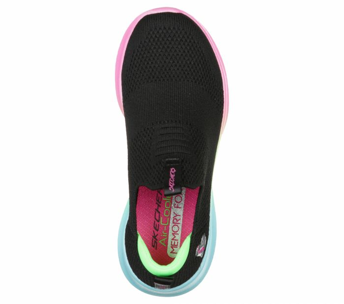 SKECHERS ULTRA FLEX lányka sportos cipő 302252 L  BKMT large