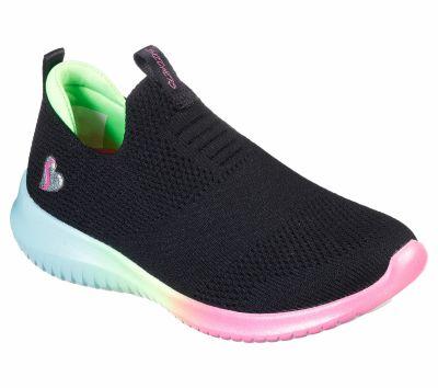 SKECHERS ULTRA FLEX lányka sportos cipő 302252 L  BKMT