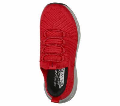SKECHERS sportos cipő 403653L RDBKRED/BLAC2