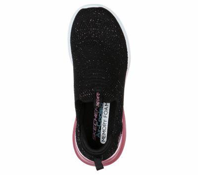 SKECHERS LÁNY ULTRA FLEX - METAMORPHIC sportos cipő 81546L  BKRG2