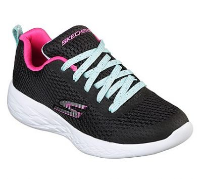 SKECHERS lányka sportos utcai cipő 82006L/BKMT