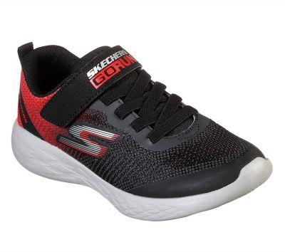 SKECHERS fiú sportos cipő 97867L/BKRD2