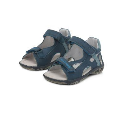 D.D.STEP fiú szandál  AC290-295BL BERMUDA BLUE 31-36 méretben2