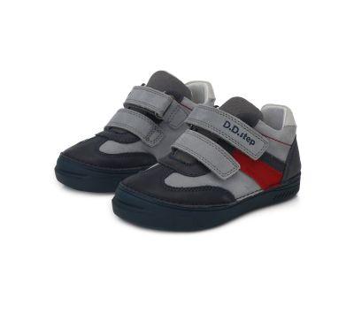 D.D.step bőr félcipő   040-236BM GREY 25-30  méretben 2