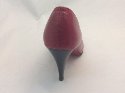 női alkalmi cipő BUTDAM. Zosia piros 7 cm 2