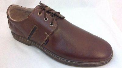 férfi bőr félcipő JA-MARC 440 R50 P16/2 barna extra 46-48 méret
