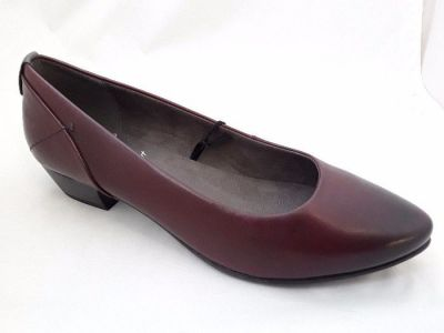 JANA női félcipő  8-22200-29 549 BORDEAUX