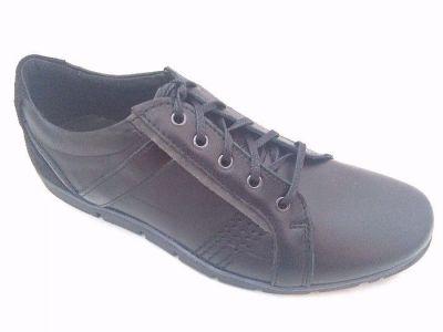férfi bőr félcipő KOMODO 854 fekete 11