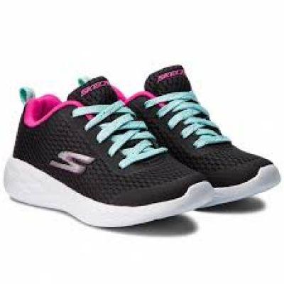 SKECHERS lányka sportos utcai cipő 82006L/BKMT 2