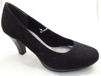 MARCO TOZZI női cipő 2-22445-30 001 BLACK